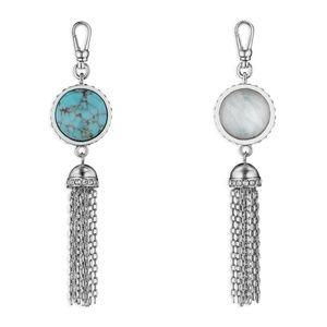 Chloe + Isabel Jewelry - Chloe + Isabel Trésors Two-Stone Tassel Charm